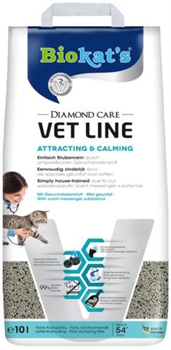 Biokat's kattenbakvulling diamond care vet line attracting & calming