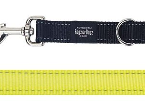 Rogz for dogs fanbelt multipurpose lijn geel