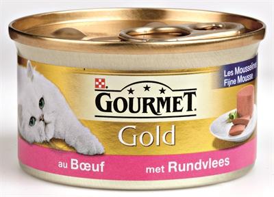Gourmet gold fijne mousse rund