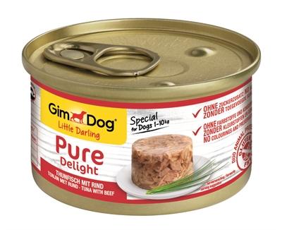 Gimdog little darling pure delight tonijn / rund