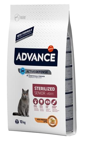 Advance cat sterilized sensitive senior 10+