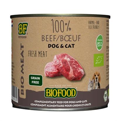 Biofood organic kat 100% rund blik