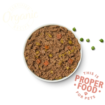 Lily's kitchen dog organic beef supper