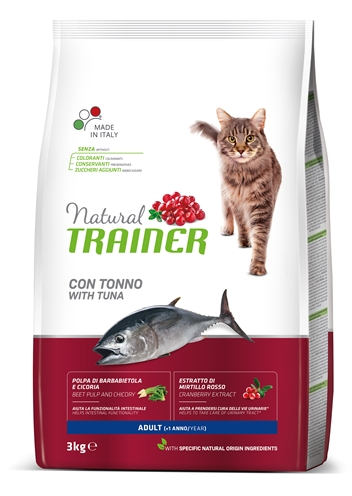 Natural trainer cat adult tuna