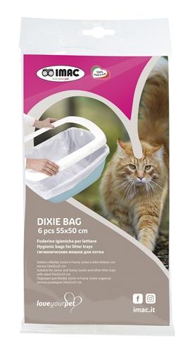 Imac kattenbakzak dixie voor kattenbak 54x42x25 cm