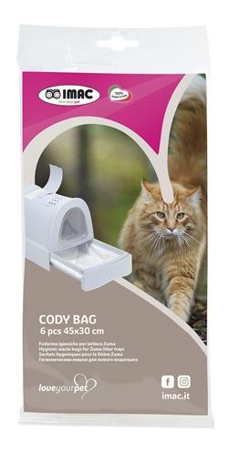 Imac kattenbakzak cody voor kattenbak zuma 50x36x10 cm