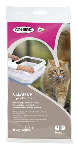 Imac kattenbakzak clean up voor easy cat 50x40x12 cm