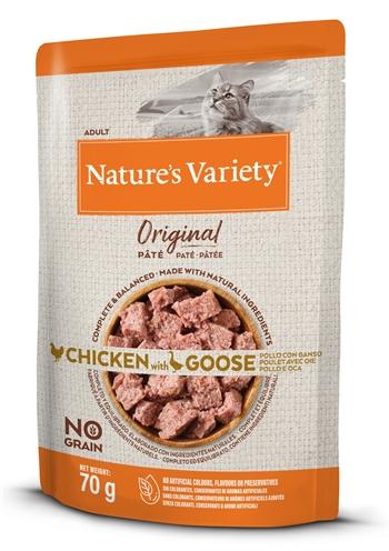 Natures variety original pouch chicken / goose