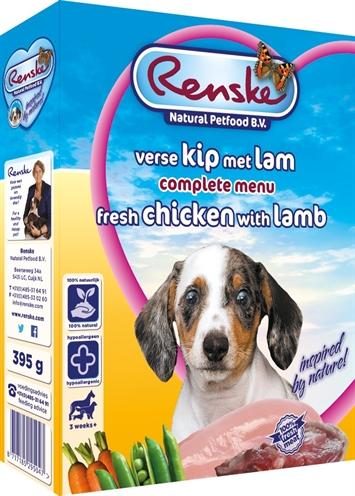 Renske vers vlees puppy