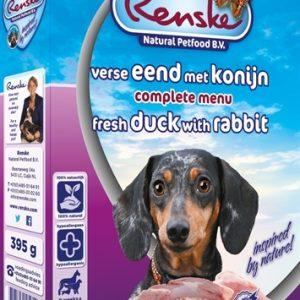 Renske vers vlees eend/konijn
