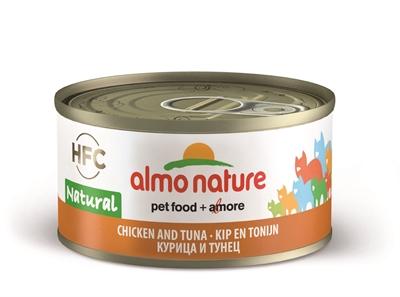 Almo nature cat tonijn/kip